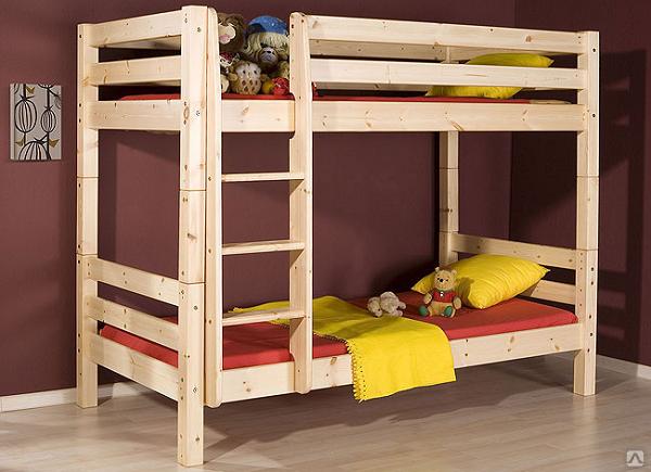 Двухъярусные детские кровати чертежи и фото