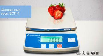 Весы компактные с поверкой 600 г/0,1 г и 1000 г/0,2 г