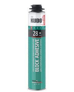 Специальный клей Клей для блоков и кирпича полиуретановый всесезонный PROF 28+ , 900гр KUDO Крепика дом крепежных материалов